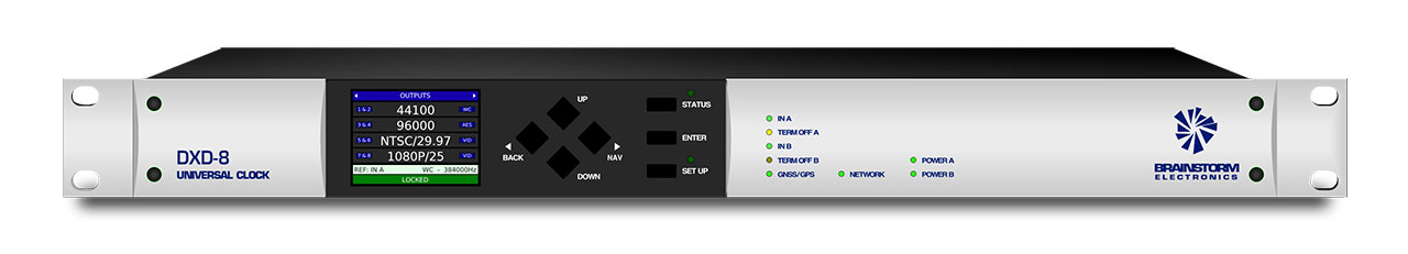 Brainstorm Electronics DXD-8 Front Panel