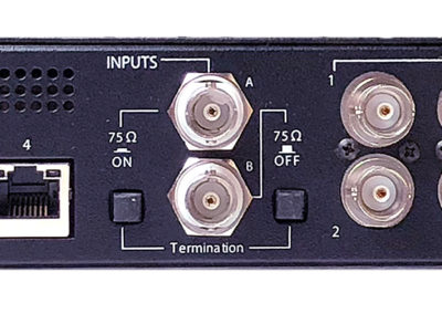 DXD-16 Rear Panel