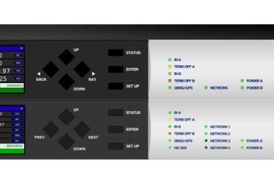 Brainstorm Electronics DXD-8 & DXD-16 Front Panels