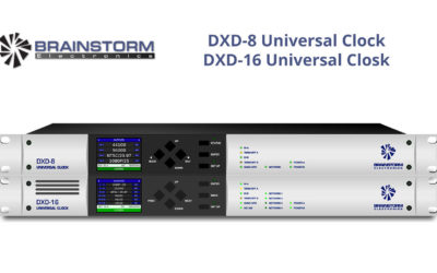Brainstorm Launches New DXD Hybrid Clocks at Winter NAMM