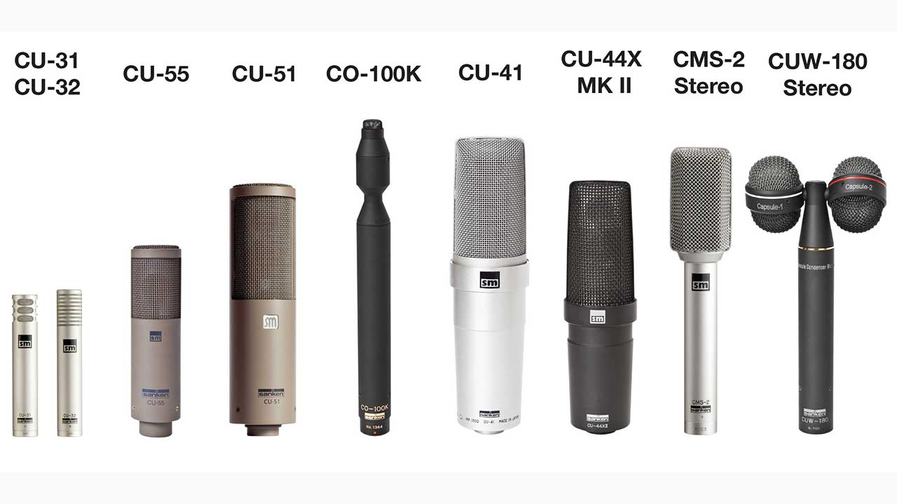 Sanken Chromatic Nine Music Mics