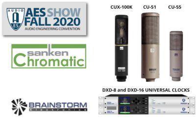 Sanken Chromatic and Brainstorm Electronics Exhibit at Virtual AES 2020